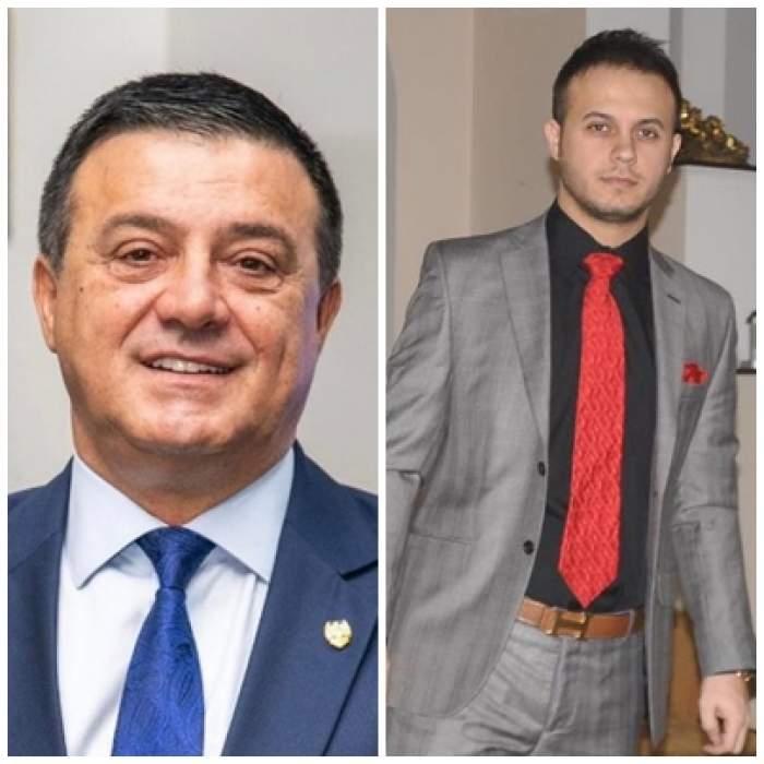 Colaj foto cu Niculae și Gabi Bădălău