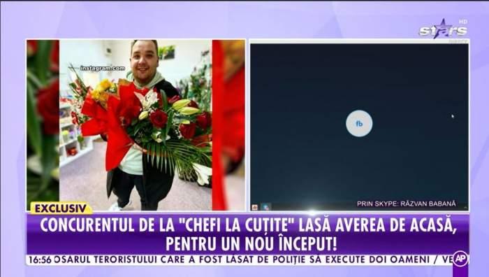 Razvan Babana vorbeste la Antena Stars despre mutarea la Bucuresti
