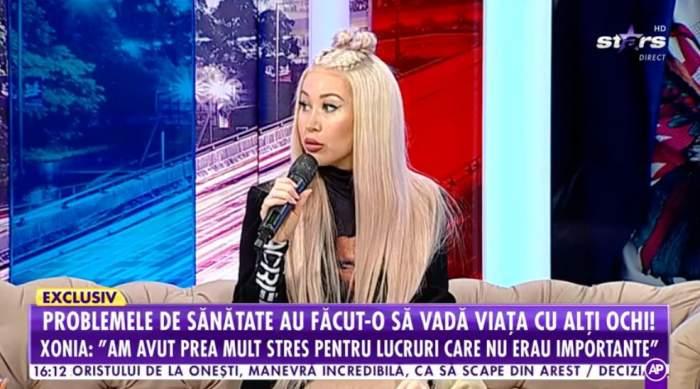 Xonia vorbeste la Antena Stars despre boala ei