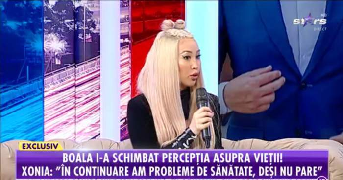 Xonia vorbeste la Antena Stars despre mutarea in America cu iubitul ei