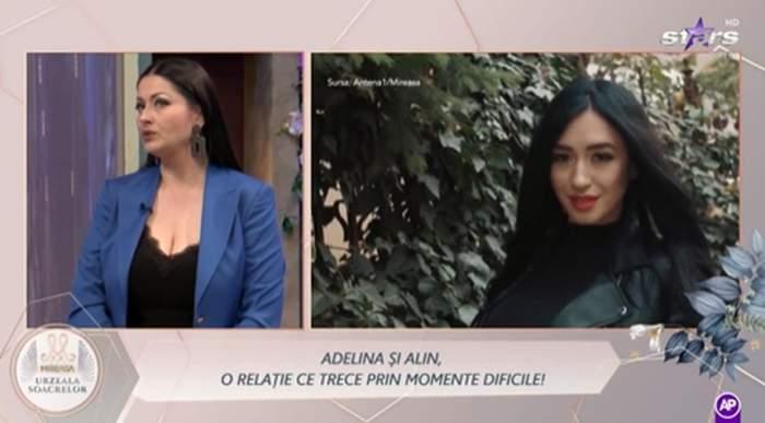 gabriela cristea in poza din stanga si concurenta Adelina Iacob de la emisiunea Mireasa in poza din dreapta