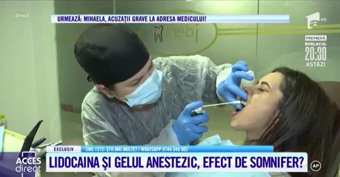 """Acces Direct. Pot da substanțele anestezice folosite de dentistul-violator amețeală și somnolență? Ce arată experimentul: """"Se pot lua de la farmacie"""""""