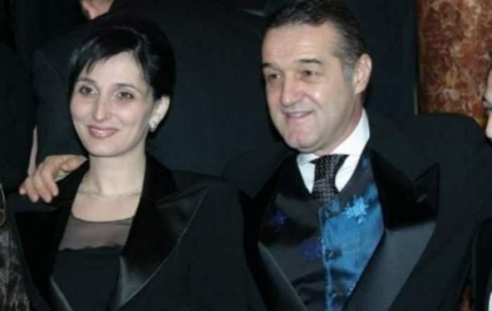 Gigi Becali alături de soția sa, la un eveniment.