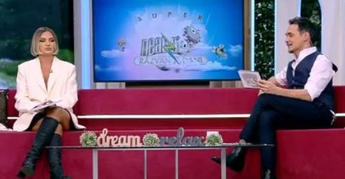 Alexandra Stan și Răzvan Simion, pe canapea la Antena 1