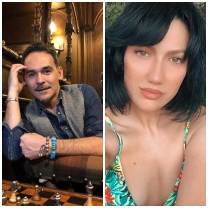 Colaj foto cu Răzvan Simion și Daliana Răducan