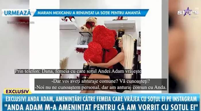 dana presupusa amanta sot anda adam declaratii despre scandal la antena stars