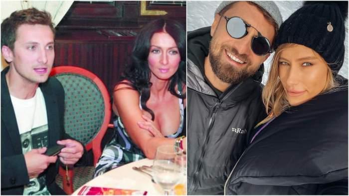 Colaj foto în care Dani Oțil apare alături și de Mihaela Rădulescu, dar și de Gabriela Prisacariu