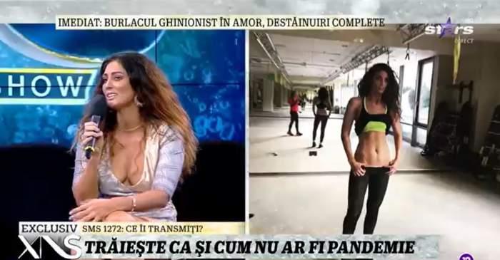 """Cu cine își alină singurătatea Claudia Pavel? Vedeta a dezvăluit la Xtra Night Show cum își trăiește viața la cote maxime: """"Sunt foarte asumată"""" / VIDEO"""