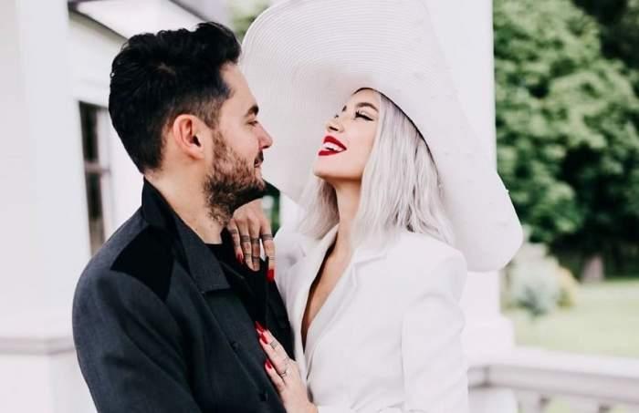 Alina Cueșan și Raul Tisa, îmbrățișați în ziua nunții lor
