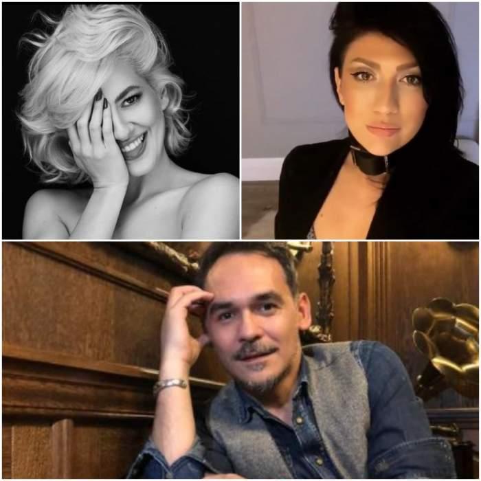 Colaj cu Lidia Buble, Daliana Răducan și Răzvan Simion.