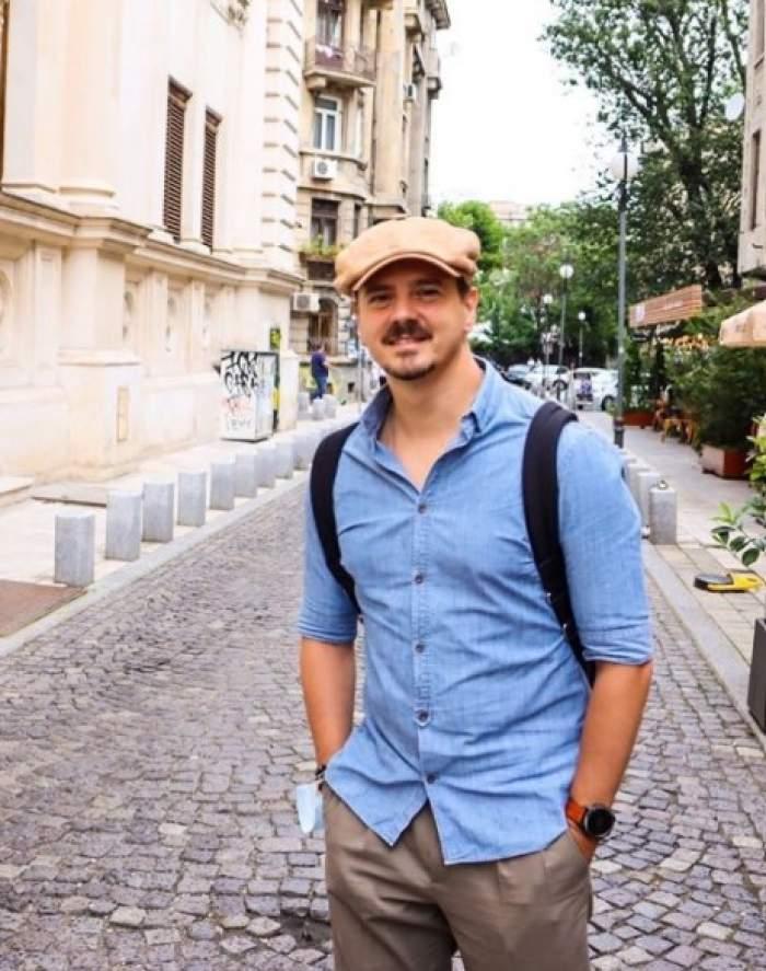 Mihai Petre în vacanță