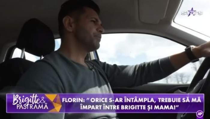 Florin Pastramă, la volanul mașinii