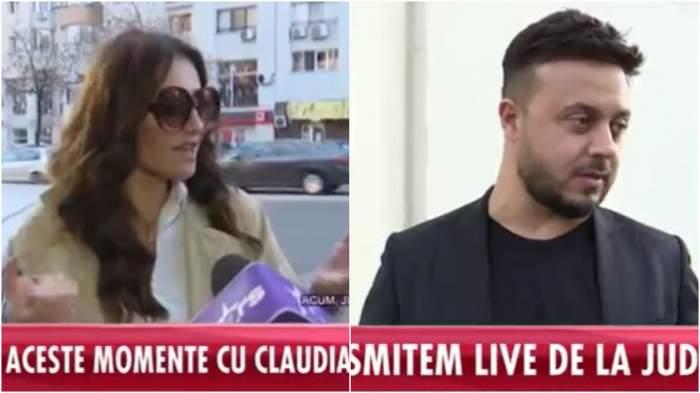 """""""Vrea să-mi ia copiii""""! Claudia Pătrășcanu, prima reacție după înfățișarea la tribunal cu Gabi Bădălău/ VIDEO"""