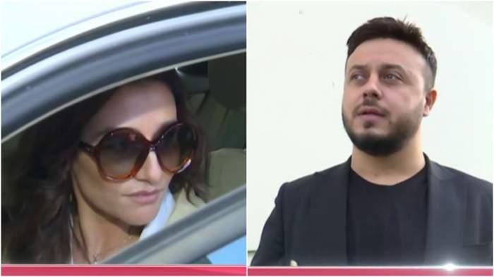 Captură video cu Claudia Pătrășcanu și Gabi Bădălău.