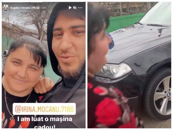 Bogdan Mocanu și mama lui