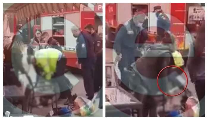 """Polițști din Pitești, acuzați că au ucis un bărbat de 63 de ani: """"I-au pus picioarele pe cap"""" / VIDEO"""