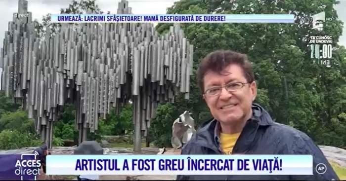 """Acces Direct. Gabriel Dorobanțu a fost la un pas de moarte. Dezvăluirile de suflet ale marelui artist: """"O situație disperată"""""""