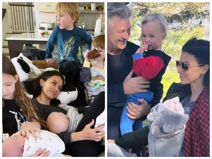 Alec Baldwin, Hilaria Baldwin și copii lor