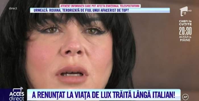 """Acces Direct. Ce intervenții își face Mariana Moculescu, după ce și-a pus acid hialuronic și botox. Vedeta vrea să slăbească: """"M-am îngrășat pe fond nervos"""" / VIDEO"""