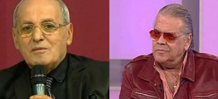 În stânga e o poză cu Nelu Ploieșteanu care vorbește la microfon. În dreapta e o poză cu Florin Condurățeanu care poartă ochelari de soare și geacă vișinie.