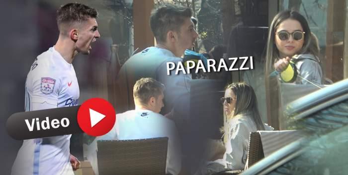 Florin Tănase și iubita sa, tratați regește la un restaurant de lux din Capitală! Cine le-a ținut companie celor doi / PAPARAZZI