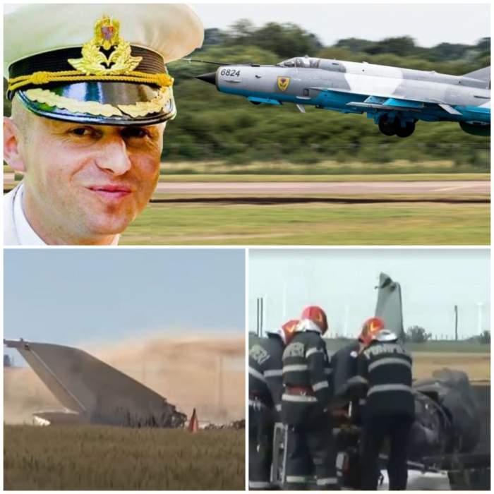 Cine este pilotul care a reușit să se salveze din avionul MIG 21 ce s-a prăbușit astăzi în Mureș