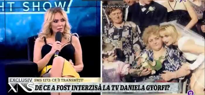 Daniela Gyorfi, dezvăluiri despre clipele cumplite din copilărie, la Xtra Night Show. Mama artistei a rămas paralizată la doar 28 de ani