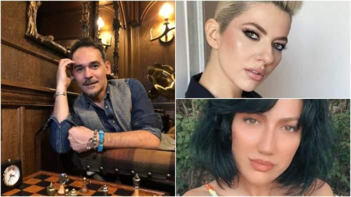 Colaj cuRăzvan Simion, Daliana Răducan și Lidia Buble.