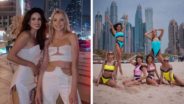 Ioana Grama, vacanță în Dubai, alături de prietenele influencerițe