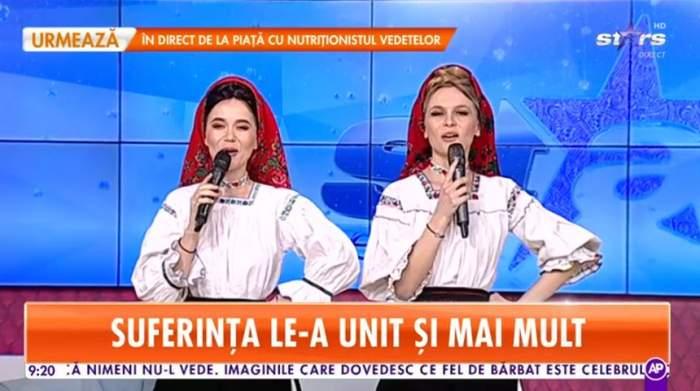 Suzana și Daciana Vlad canta la star matinal