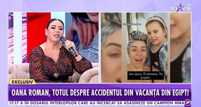 Oana Roman a vorbit la Antena Stars despre vacanta din Egipt si relatia cu Marius Elisei