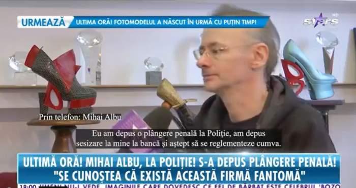 Mihai Albu a vorbit la Antena Stars despre escrocheria la care a cazut victima