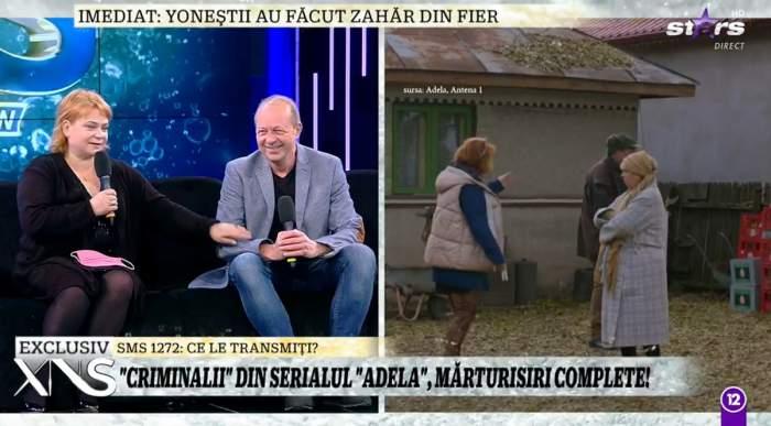 """Anca Sigartău și Marian Râlea, dezvăluiri la Xtra Night despre serialul """"Adela"""": """"E o mare șansă"""" / VIDEO"""