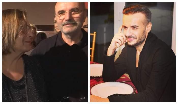 Colaj cu părinții lui Răzvan Ciobanu/ Răzvan Ciobanu în perioada în care trăia.