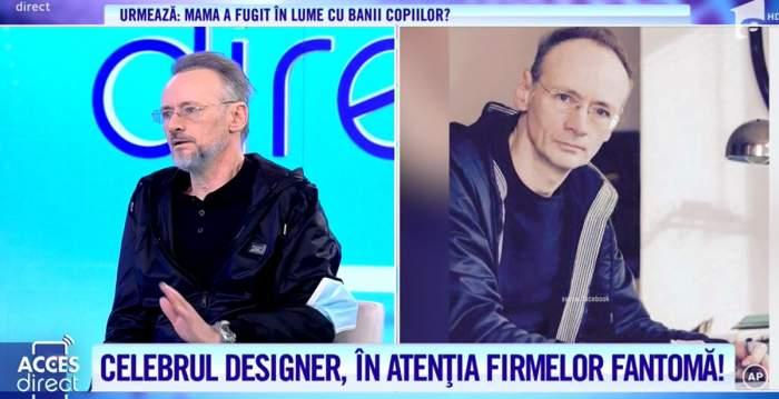 """Acces Direct. Mihai Albu, escrocat printr-o nouă metodă. Designerul a pierdut sume mari de bani. """"Am intrat pe acel link...."""" / VIDEO"""