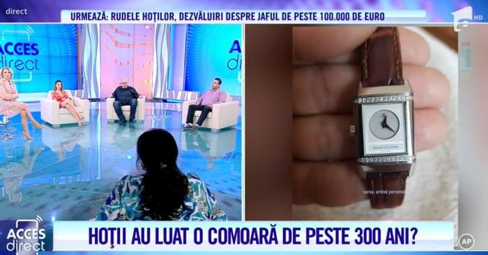 """Acces Direct. Familie jefuită de hoți în plină seară. Prejudiciul ajunge la peste 100.000 de euro. """"Aveam foarte multe bijuterii și ceasuri""""/ VIDEO"""