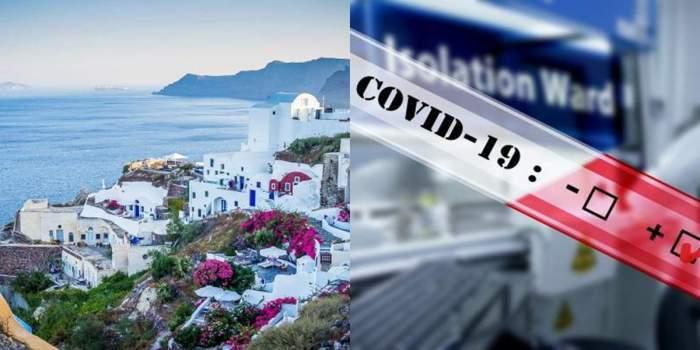 grecia colaj cu COVID