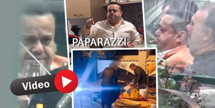 """""""Chef de chef""""... în pandemie! Adrian Minune, """"naș cu restricții"""", pentru Cristina Oae. Cum au petrecut invitații pe piesele lui Cocoș de la Călărași! / PAPARAZZI"""