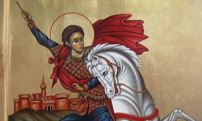 icoana cu Sfantul Gheorghe