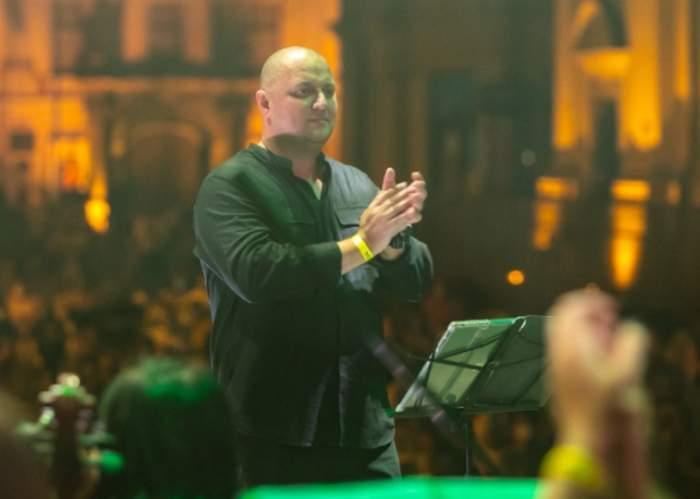 Răzvan Metea pe scena
