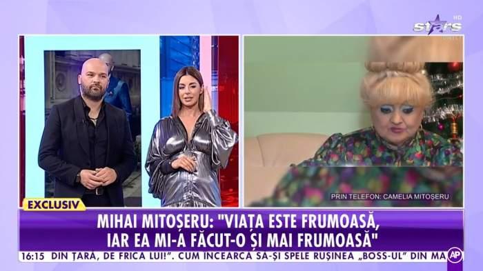 Camelia Mitoșeru, vorbind la Antena Stars