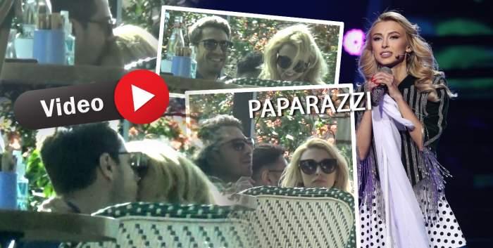 Primele imagini cu Andreea Bălan și Tiberiu Argint sărutându-se! Momente rare de tandrețe în public / PAPARAZZI