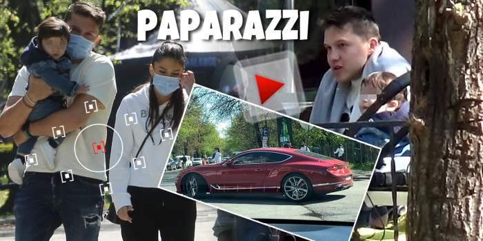 Costin Rusu, bărbat multifuncțional! Fiul primarului nu-și scapă băieții din ochi, dar are grijă și de telefon și de imaginea sa. Video de milioane, exact ca bolidul său, cu Prințișorul de la Tărtășești și familia / PAPARAZZI