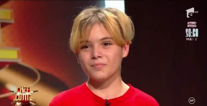 Cel mai tânăr vlogger a dat lovitura cu preparatul lui la Chefi la Cuțite. De unde a învățat Denis Preda să gătească / VIDEO