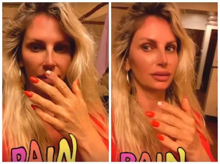 Andreea Bănică, cu unghia ruptă