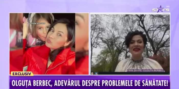 """Olguța Berbec, adevărul despre problemele de sănătate la Showbiz Report. """"Aproape tremur"""" / VIDEO"""