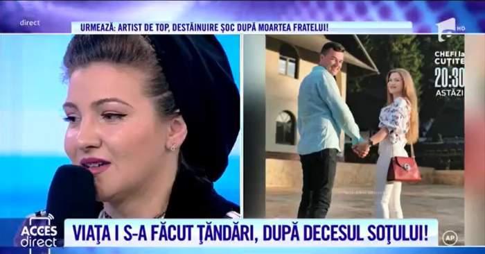 """Acces Direct. Văduva lui Dumitru Stroie face dezvăluiri despre moartea soțului său, la doar 30 de ani: """"Pentru mine este încă viu"""""""