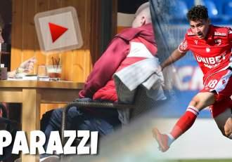 Fotbaliștii de la Dinamo fac bani și în pandemie. Cum a fost surprins tânărul jucător Ahmed Bani, în timp ce-și negocia sumele / PAPARAZZI