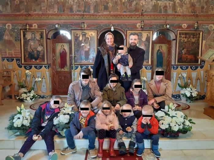 familia preotului din ohaba