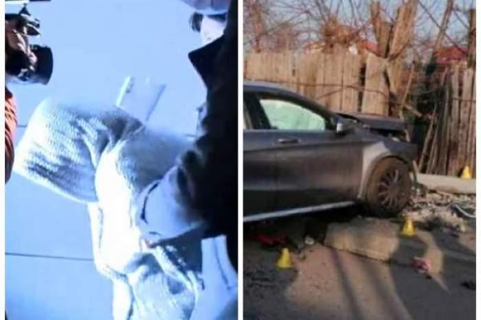 accident Andronache și șoferița vinovată